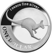 Australski srebrni klokan (Australian Silver Kangaroo)
