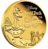 Zlatnik s likom Donalda Ducka razgrabljen u nekoliko minuta