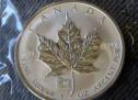Kanadski srebrni javorov list (Canadian Silver Maple Leaf)