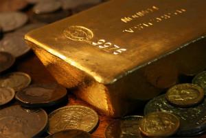 Zlatne poluge i kovanice