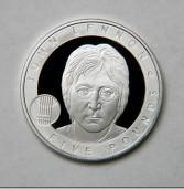 Srebrnjak s likom Johna Lennona iskovan na poticaj internetske javnosti