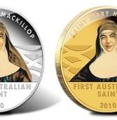 Pušteni u optjecaj zlatnik i srebrnjak s likom prve australske katoličke svetice Mary MacKillop