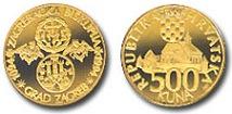 Zlatnik 900 godina zagrebačke biskupije