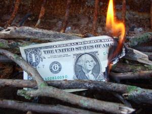 Novac gori