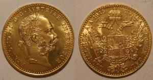 Zlatni dukat jednostruki Franc Ios