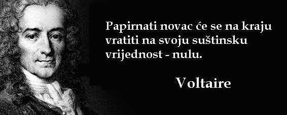 Hrvatska - zemlja bez zlatnih rezervi (Voltaire citat)