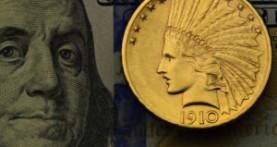 Vrijednost eura u odnosu na zlato