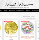 Otvoren je novi web shop za kupnju plemenitih kovina